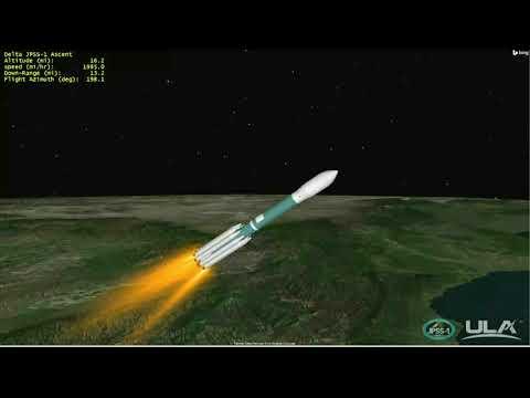 Liftoff! NOAA's JPSS-1 Launches atop a Delta II Rocket on Nov. 18