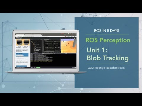 [ROS Tutorials] ROS Perception Unit1# Blob Tracking
