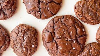 Salty Fudgy Cookie  Fudgy Brownie Cookie