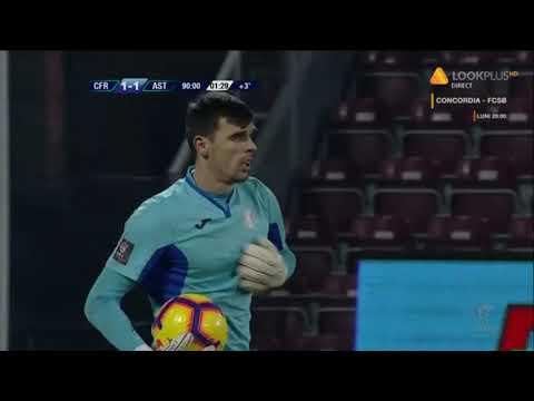 CFR - Astra: ocazie mare a lui Omrani in min 90 / Et 24, Liga 1, sezon 2018-2019