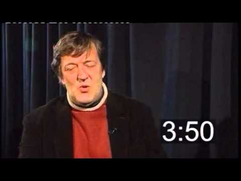 Five Minutes With: Stephen Fry