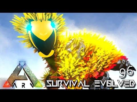 ARK: SURVIVAL EVOLVED - NEW TEK ARMED DODOREX FOREWORLD MYTH E96 (MODDED ARK EXTINCTION CORE)