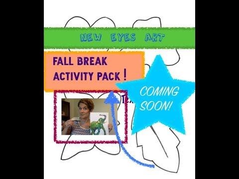 Fall Break Art Activity Pack Preview!