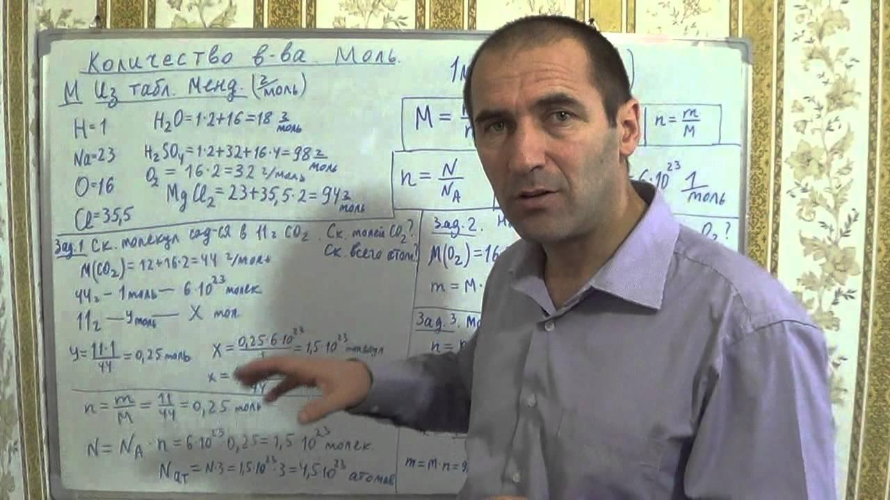 Видеоуроки по химии на 8 класс габриелян