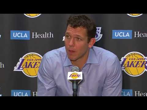 Luke Walton On KCP Getting Ejected And More