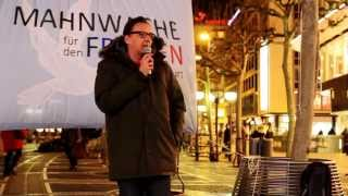 12.01.15 - Mahnwache für den Frieden - Frankfurt am Main [Teil 1]