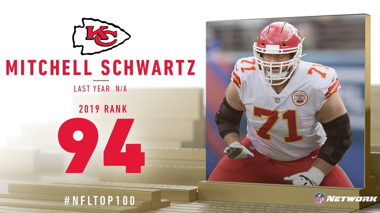 super popular 063f4 1e983 #94: Mitchell Schwartz (OT, Chiefs) | Top 100 Players of 2019 | NFL