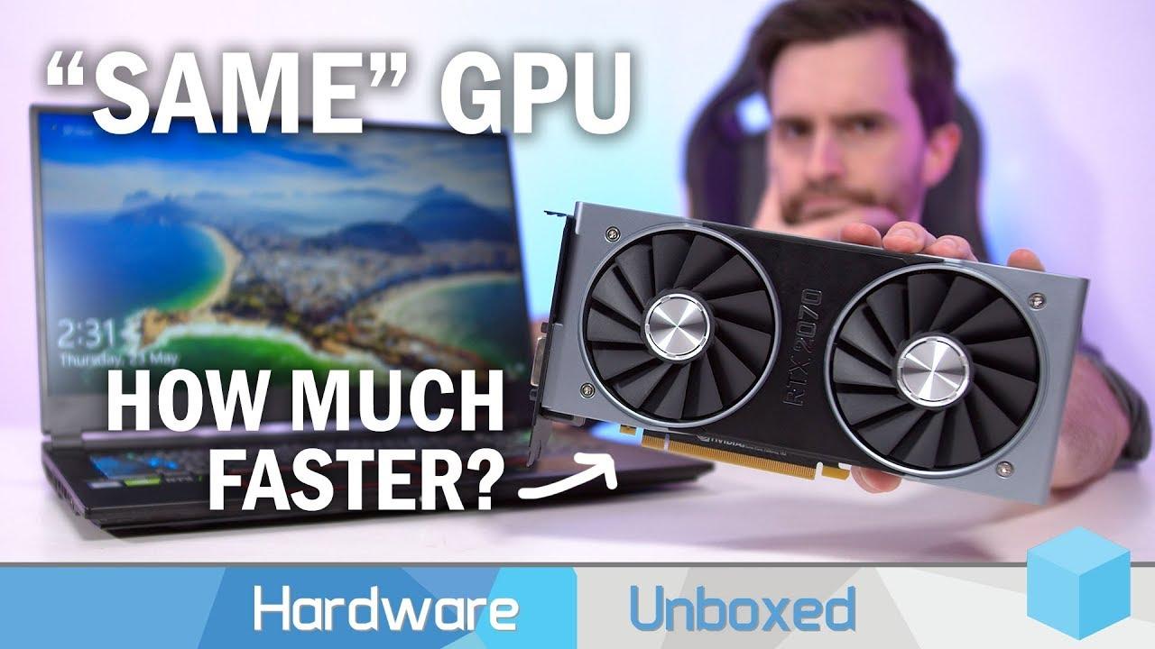 Is Desktop Gaming Really That Much Better? RTX 2070 Desktop vs Laptop  Benchmark