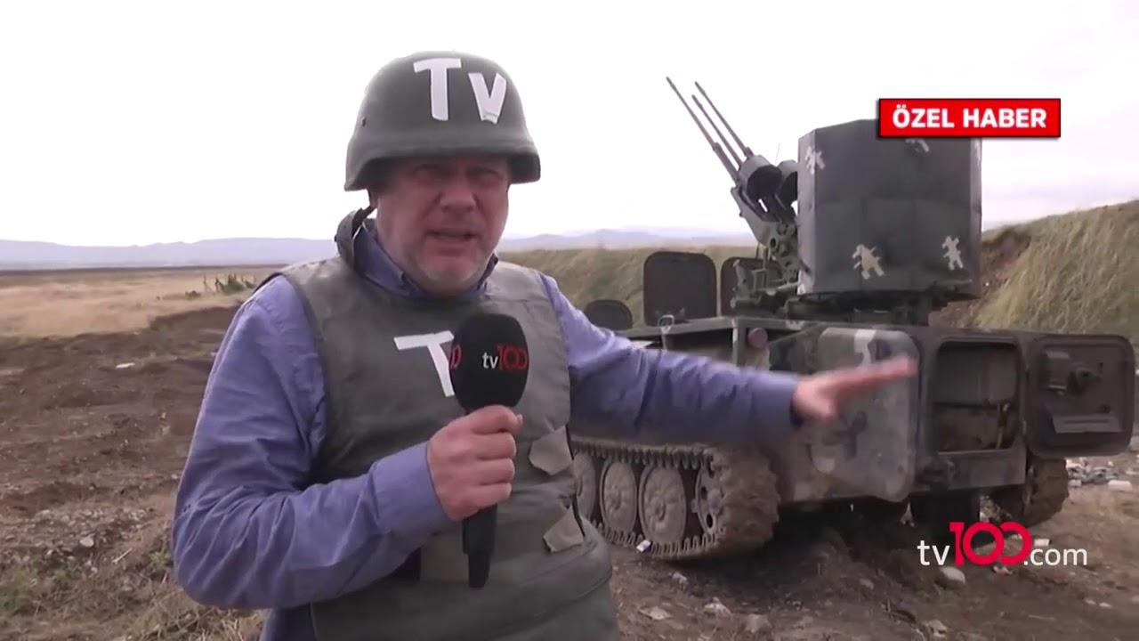 Ermenistan Ordusu'nun zırhlıları imha edildi