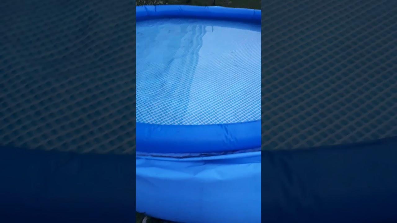 Intex Pool Einfach Entleeren Mit Der Filter Pumpe Youtube