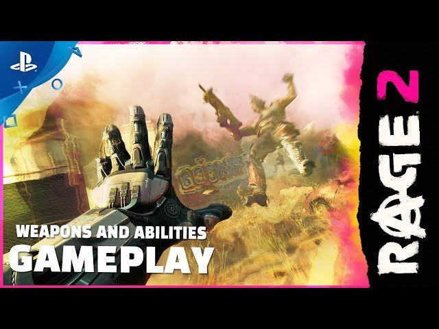 Rage 2 - Weapons and Abilities Gameplay | PS4