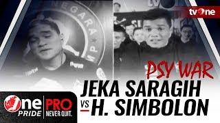 [PSY WAR] Jelang Lightweight Title Fight || Jeka Saragih vs Hatoropan Simbolon
