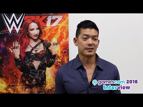 WWE 2K17 - Interview mit Bryce Yang