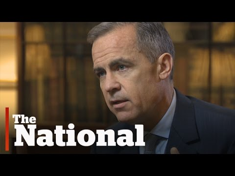 Mark Carney on Climate Change Talks