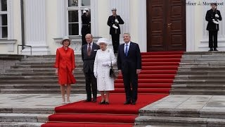 Queen Elizabeth in Berlin: Schloss Bellevue & Spreeufer