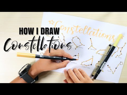 HOW I DRAW CONSTELLATIONS
