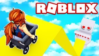 THE WORST TOBOGON +9999999 METERS OF THE WORLD of ROBLOX 😱