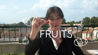 Weekly French Words with Lya - Fruits