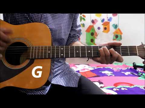 Prada - Jass Manak - Punjabi song - Guitar cover lesson chords simple version