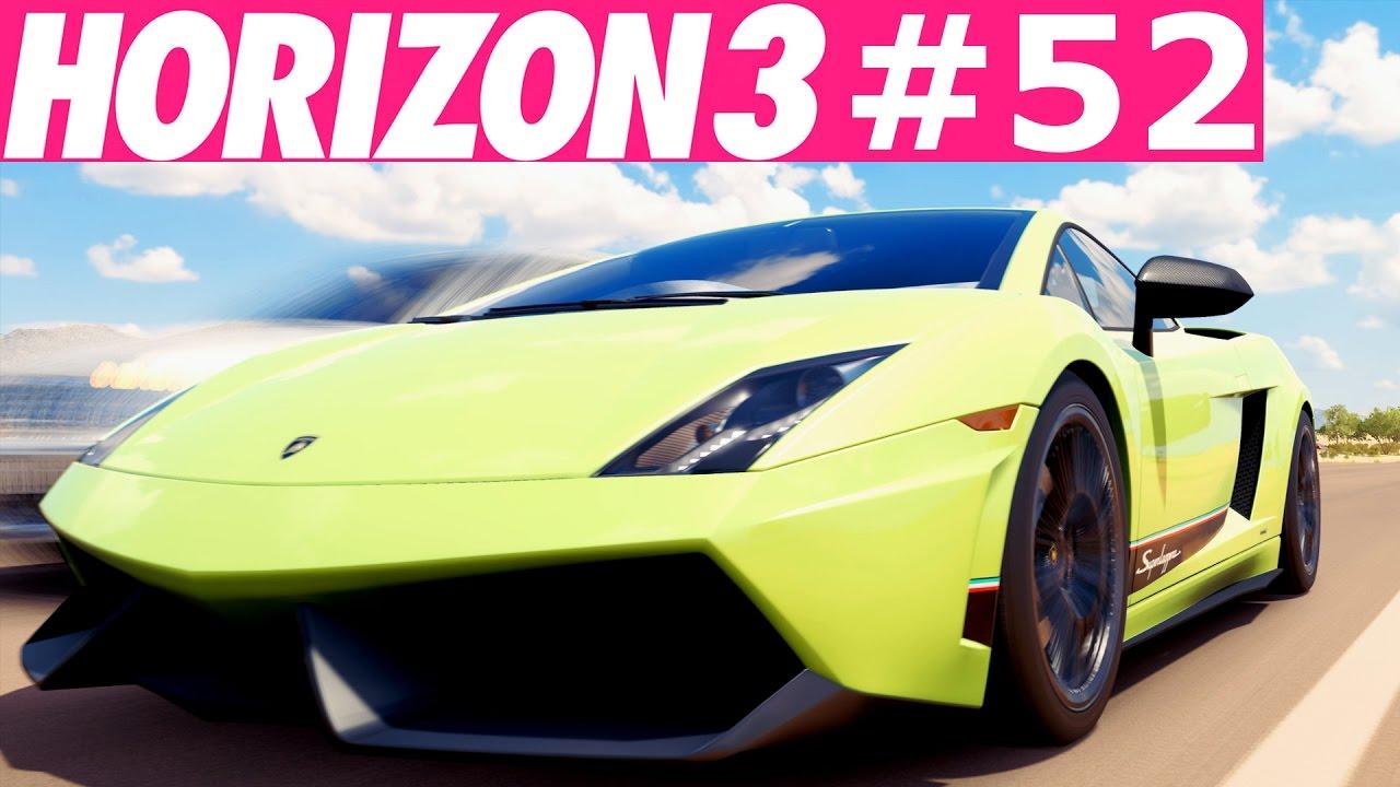 Lamborghini Gallardo Superleggera Forza Horizon 3 52 Lets Play