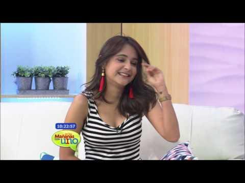 Cristina García y Leosmedes Sosa bailaron al ritmo de En las Mañanas con Uno