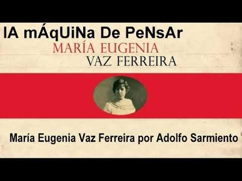 MARÍA EUGENIA VAZ FERREIRA POR ADOLFO SARMIENTO - LMDP 171011