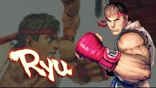 Ryu Balance Changes - Ultra Street Fighter IV Gameplay Demo
