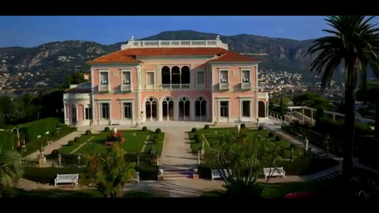 La Villa & Jardins Ephrussi de Rothschild vus du ciel