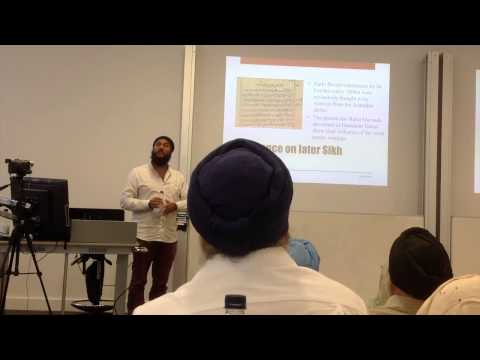 Anandpur Court Poet Writings - Sikh Studies Conference, Imperial College