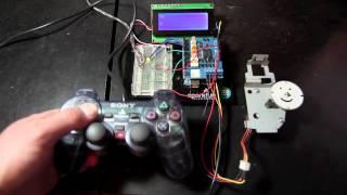 Playstation 2 Motor Controller via Arduino