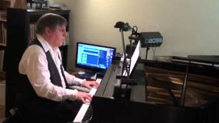 Mannix, solo piano by Tom Cortese