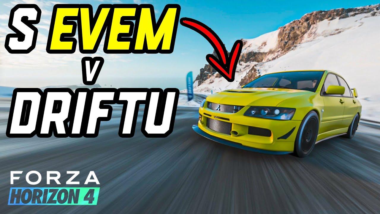 Drifty s Mitsubishi Lancer Evo + Nastavení volantu! | Gaming Boy #4