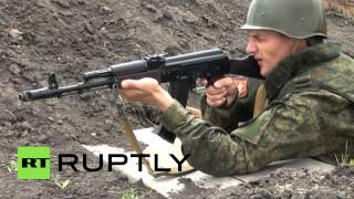 Russia: Military bring out the big guns in