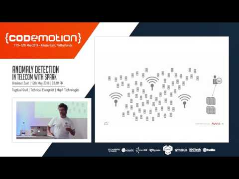 Tugdual Grall - Anomaly Detection in Telecom with Spark