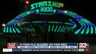 11-year-old injured on Kern County Fair ride