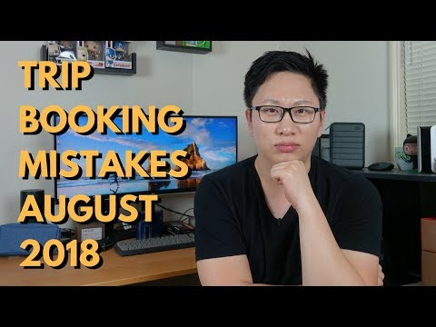Trip Booking Fails: August 2018