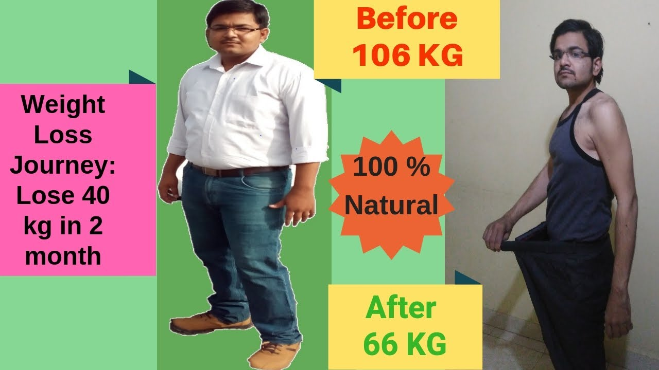 Lose weight for 2 months