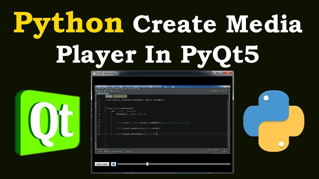 Python How To Create Media Player In PyQt5