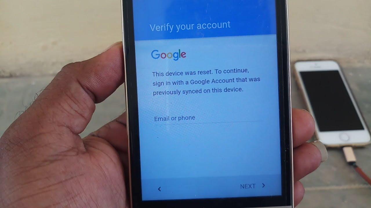 bypass google account lock apk