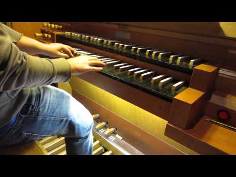 COLDPLAY - PARADISE on CHURCH ORGAN (HD)