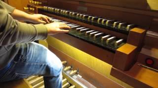 COLDPLAY - PARADISE on CHURCH ORGAN (HD)
