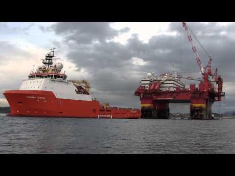 Floatel superior i Kristiansund