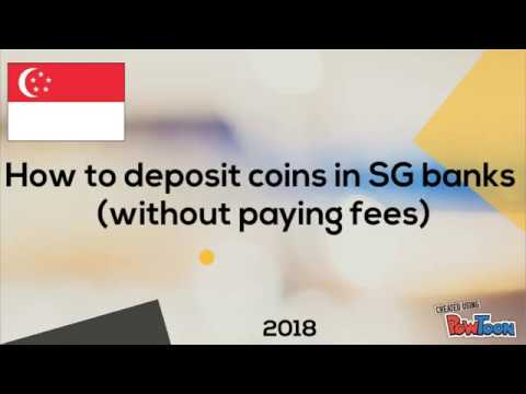 Posb charges for coin deposit