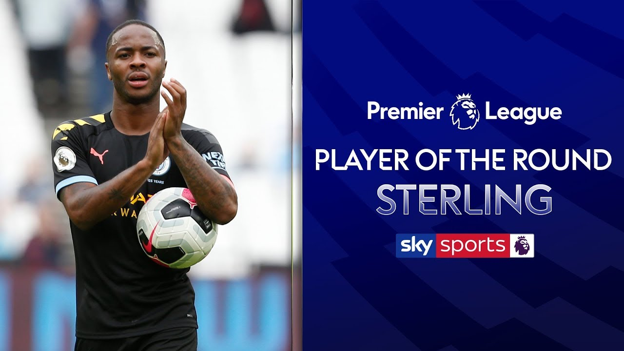 Raheem Sterling hits hat-trick! | Player of the Round | Premier League | Gameweek 1