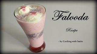 Falooda with Ice Cream Recipe