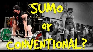 Sumo Vs. Conventional Deadlift