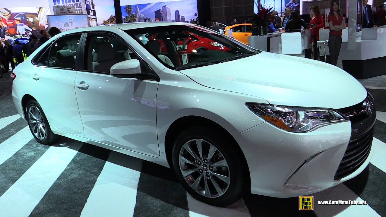 2015 Toyota Camry XLE   Exterior And Interior Walkaround   2014 Los AA Show    YouTube
