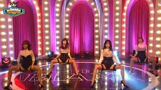 Repeat youtube video Rainbow Blaxx - INTRO + Cha Cha, 레인보우 블랙 - 인트로 + 차차, Show Champion 20140122
