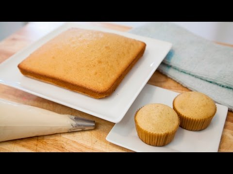 How To Make Vanilla Cake Cupcakes