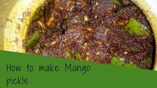 How To Make Mango Achar At Home
